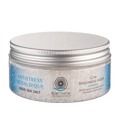 "CОЛЬ МЕРТВОГО МОРЯ DEAD SEA SALT ""ANTISTRESS HERALDIQUE"""